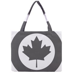 Low Visibility Roundel Of The Royal Canadian Air Force Mini Tote Bag