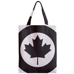 Low Visibility Roundel Of The Royal Canadian Air Force Zipper Classic Tote Bag