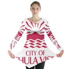 Seal Of Chula Vista Long Sleeve Tunic