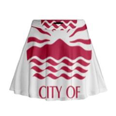 Seal Of Chula Vista Mini Flare Skirt
