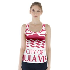 Seal Of Chula Vista Racer Back Sports Top