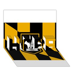 Flag Of Baltimore Hope 3d Greeting Card (7x5)