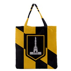 Flag Of Baltimore Grocery Tote Bag