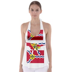 Flag Of St Babydoll Tankini Top