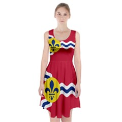 Flag Of St Racerback Midi Dress