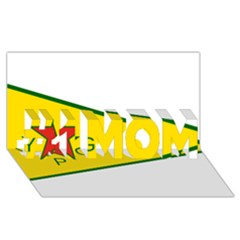 Flag Of The People s Protection Units #1 MOM 3D Greeting Cards (8x4)