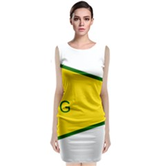 Flag Of The People s Protection Units Classic Sleeveless Midi Dress