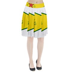 Flag Of The People s Protection Units Pleated Skirt