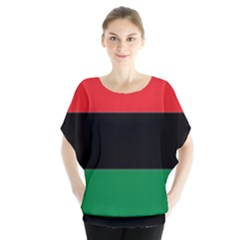Pan African Flag  Blouse