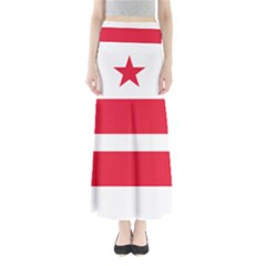 Flag Of Washington, Dc  Maxi Skirts