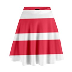 Flag Of Washington, Dc  High Waist Skirt