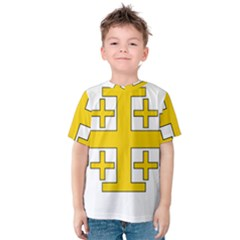 Jerusalem Cross Kid s Cotton Tee