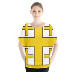 Jerusalem Cross Blouse