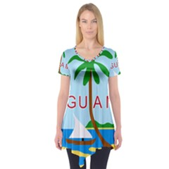 Seal Of Guam Short Sleeve Tunic
