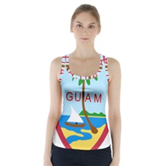 Seal Of Guam Racer Back Sports Top