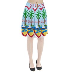Seal Of Guam Pleated Skirt