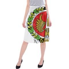 Seal of Yogyakarta  Midi Beach Skirt