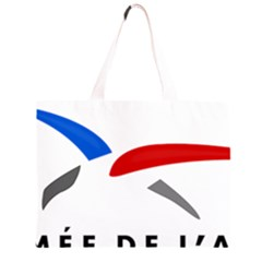 Logo of The French Air Force  Large Tote Bag