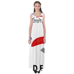 Logo of The French Air Force  Empire Waist Maxi Dress