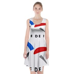 Logo Of The French Air Force (armee De L air) Racerback Midi Dress