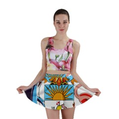 Coat of Arms of the Bahamas Mini Skirt
