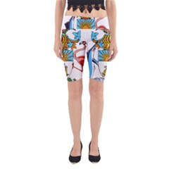 Coat of Arms of the Bahamas Yoga Cropped Leggings
