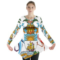 Coat Of Arms Of The Bahamas Long Sleeve Tunic