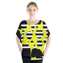 Yellow abstraction Blouse