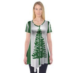 Flag Of Norfolk Island Short Sleeve Tunic