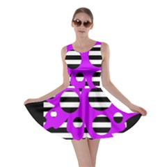 Purple abstraction Skater Dress