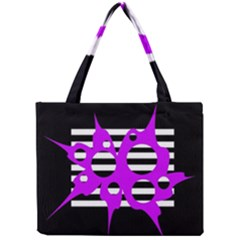 Purple abstraction Mini Tote Bag