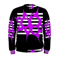 Purple abstraction Men s Sweatshirt