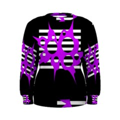 Purple abstraction Women s Sweatshirt
