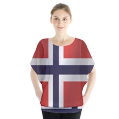 Flag Of Norway Blouse