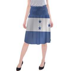 Flag Of Honduras Midi Beach Skirt
