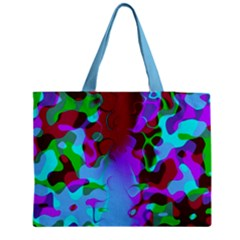 Retro Colorsplash Tote Bag Medium