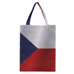 Flag Of Czech Republic Classic Tote Bag