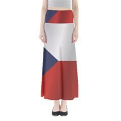 Flag Of Czech Republic Maxi Skirts