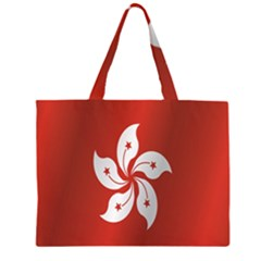 Flag Of Hong Kong Large Tote Bag