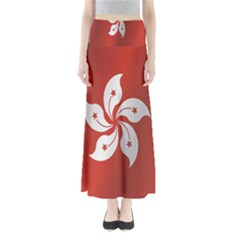 Flag Of Hong Kong Maxi Skirts