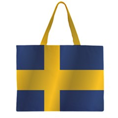 Flag Of Sweden Large Tote Bag