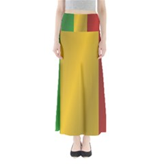 Flag Of Mali Maxi Skirts