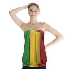 Flag Of Mali Strapless Top