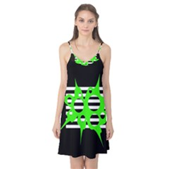 Green abstract design Camis Nightgown