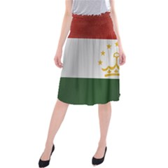 Flag Of Tajikistan Midi Beach Skirt