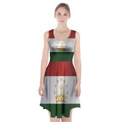 Flag Of Tajikistan Racerback Midi Dress