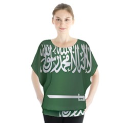 Flag Of Saudi Arabia Blouse