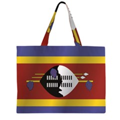 Flag Of Swaziland Large Tote Bag