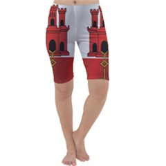Flag Of Gibraltar Cropped Leggings
