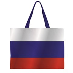 Flag Of Russia Large Tote Bag